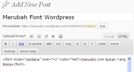 font wordpress-2