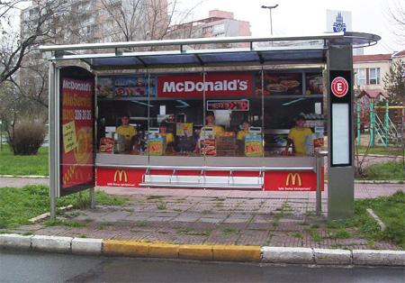 iklan mcd busstop