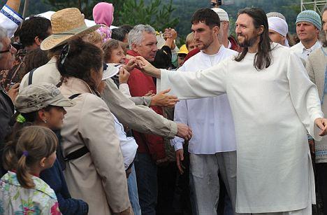 RUSSIA-RELIGION-SECT-SIBERIA-JESUS