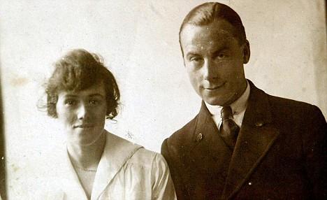 henry dan istri -1916