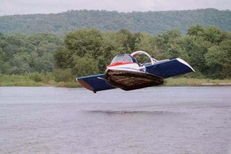 hovercraft tercepat