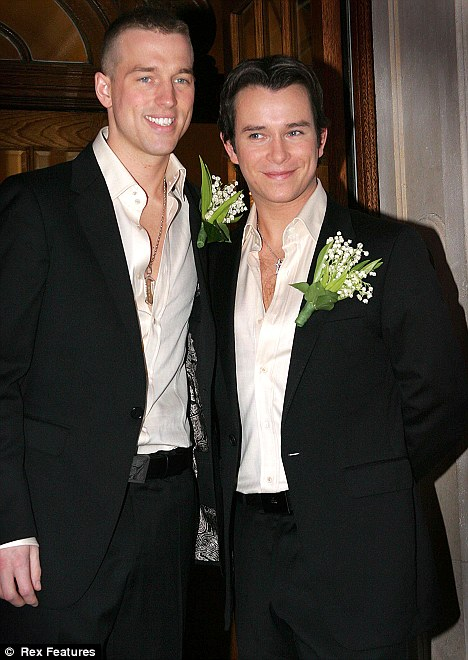 Stephen Gately & Andrew cowles